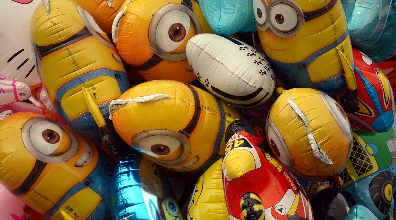 Folieballoner til børnefødselsdagen